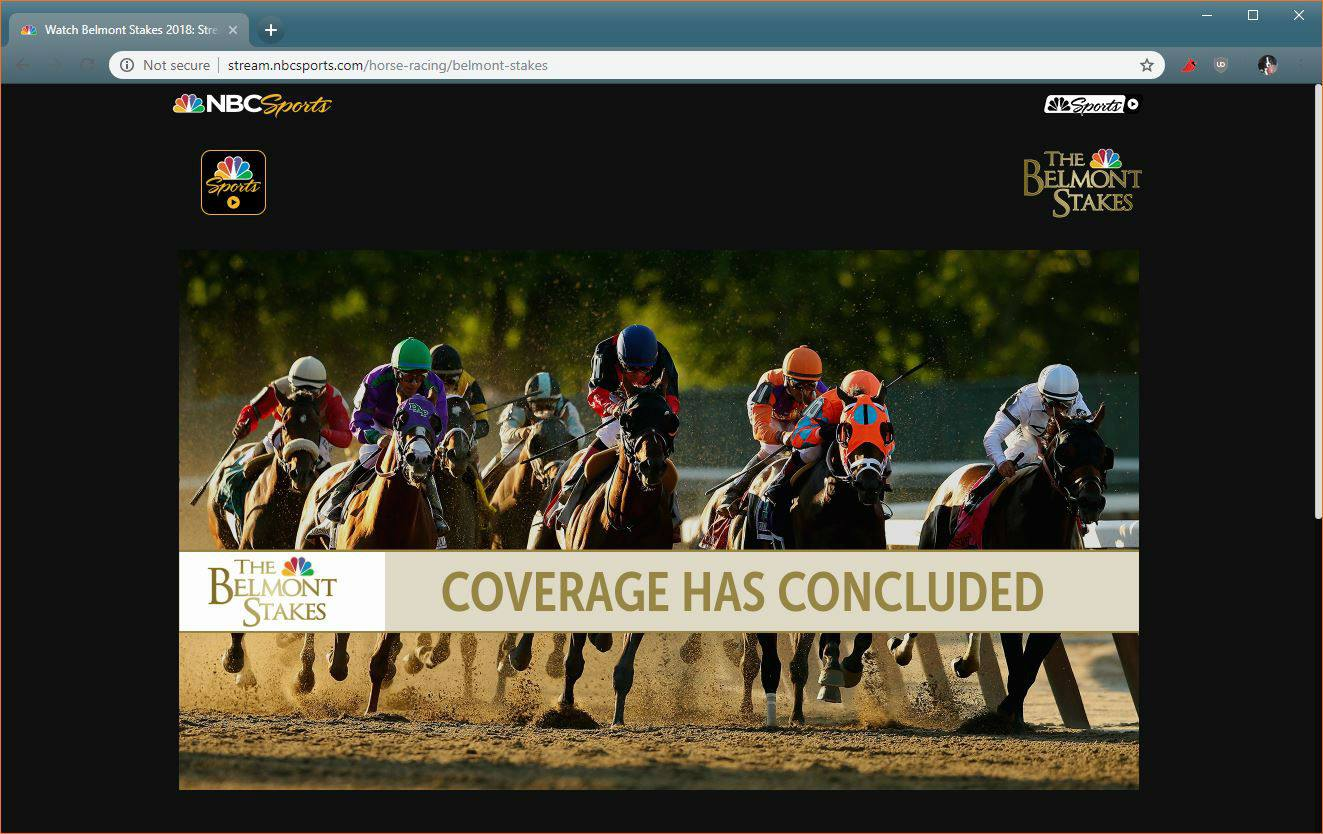 How to Watch The Belmont Park Live Stream