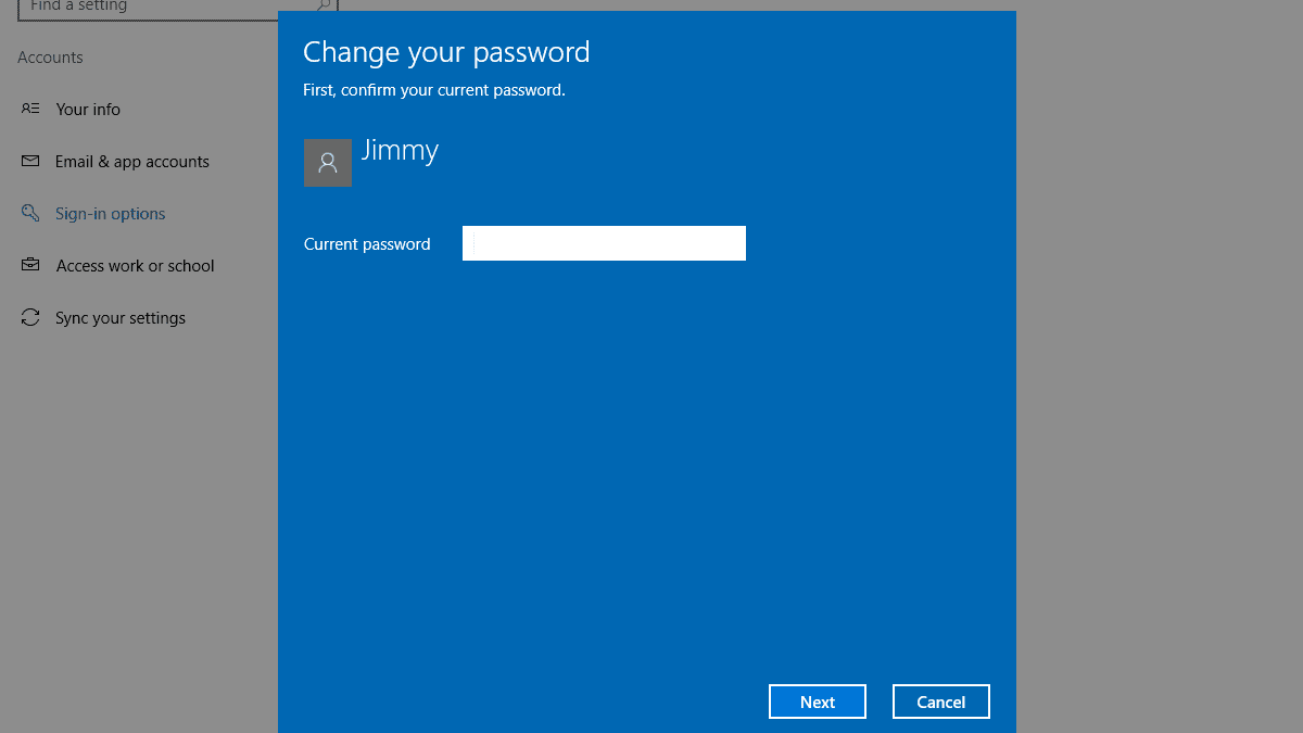 Samsung Account Password Request