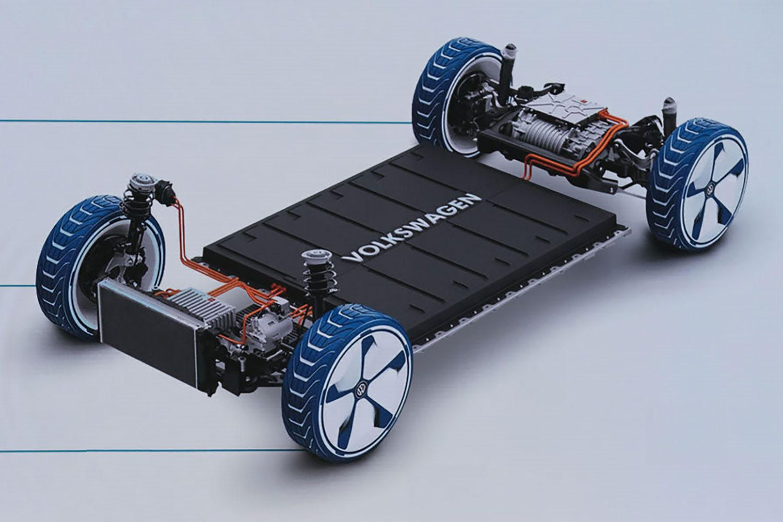 The VW 'skateboard' platform.