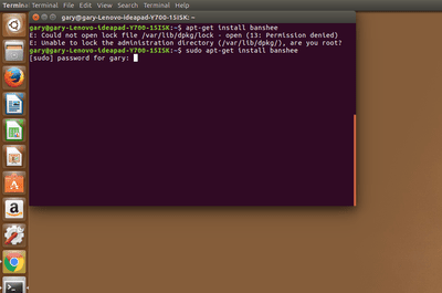 Sudo prompt on the Linux command line