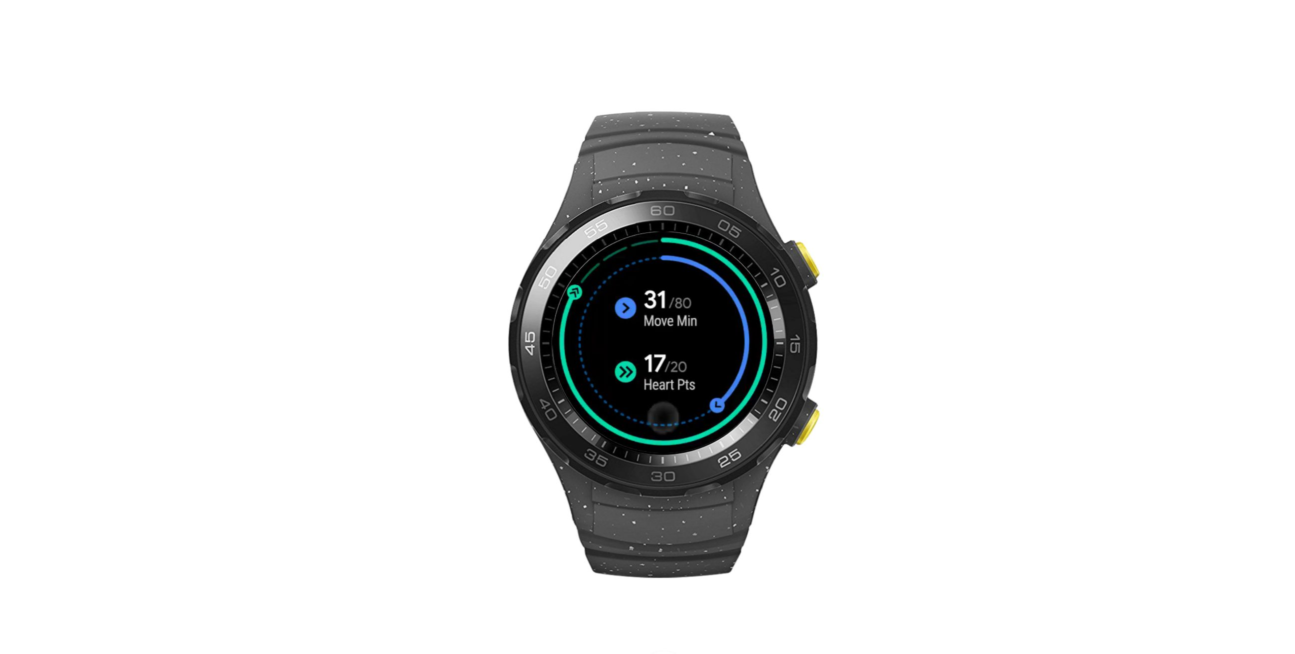 Google Fit screen on Wear OS by Google