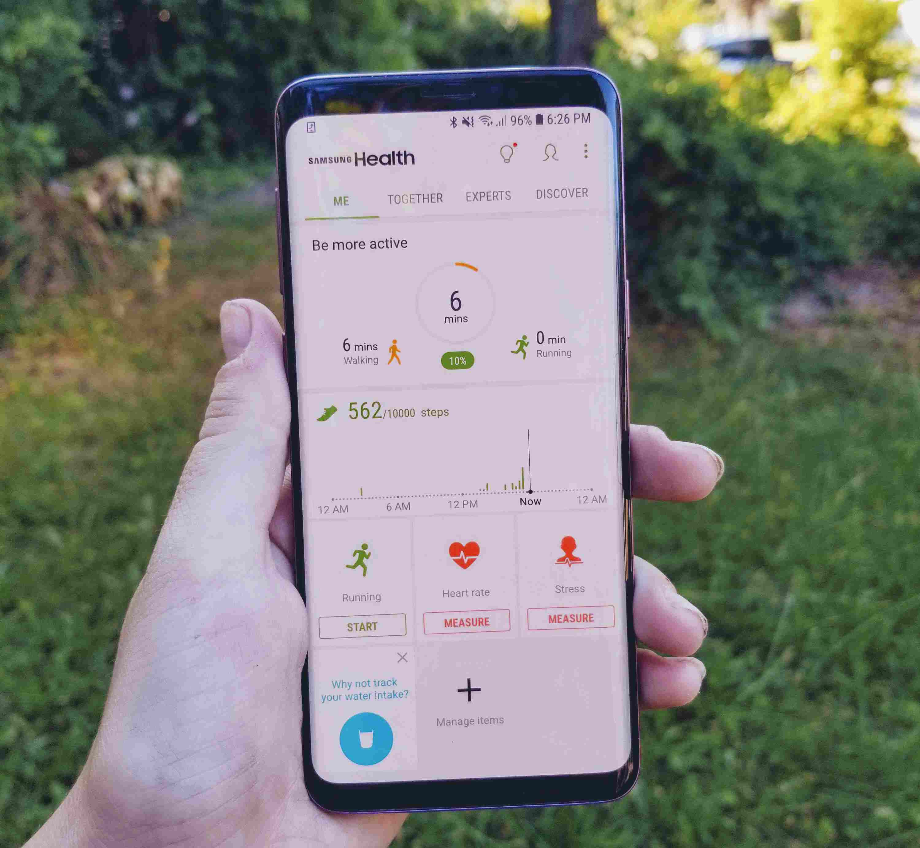 Samsung Health: How It Works