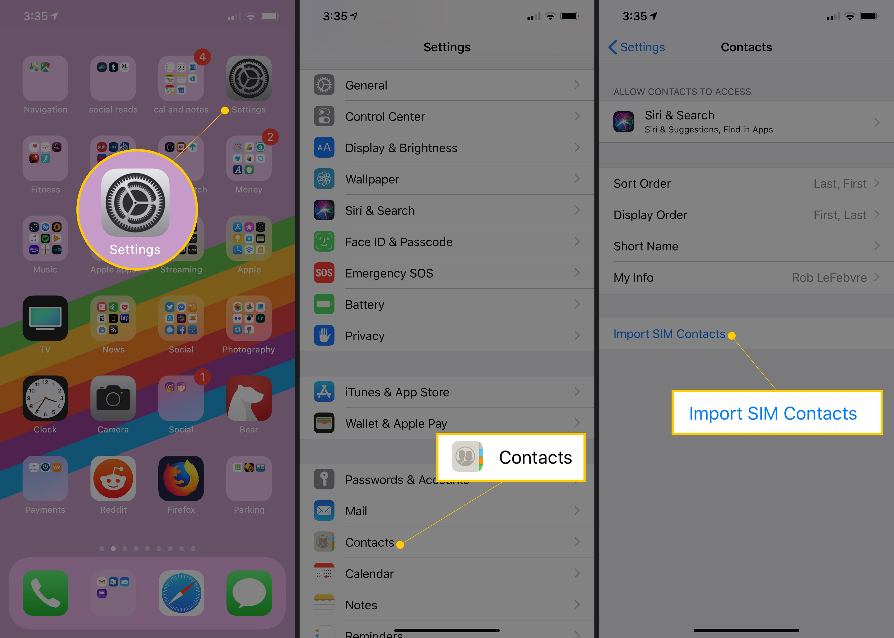 How to Transfer Your Contacts From Android to iPhone