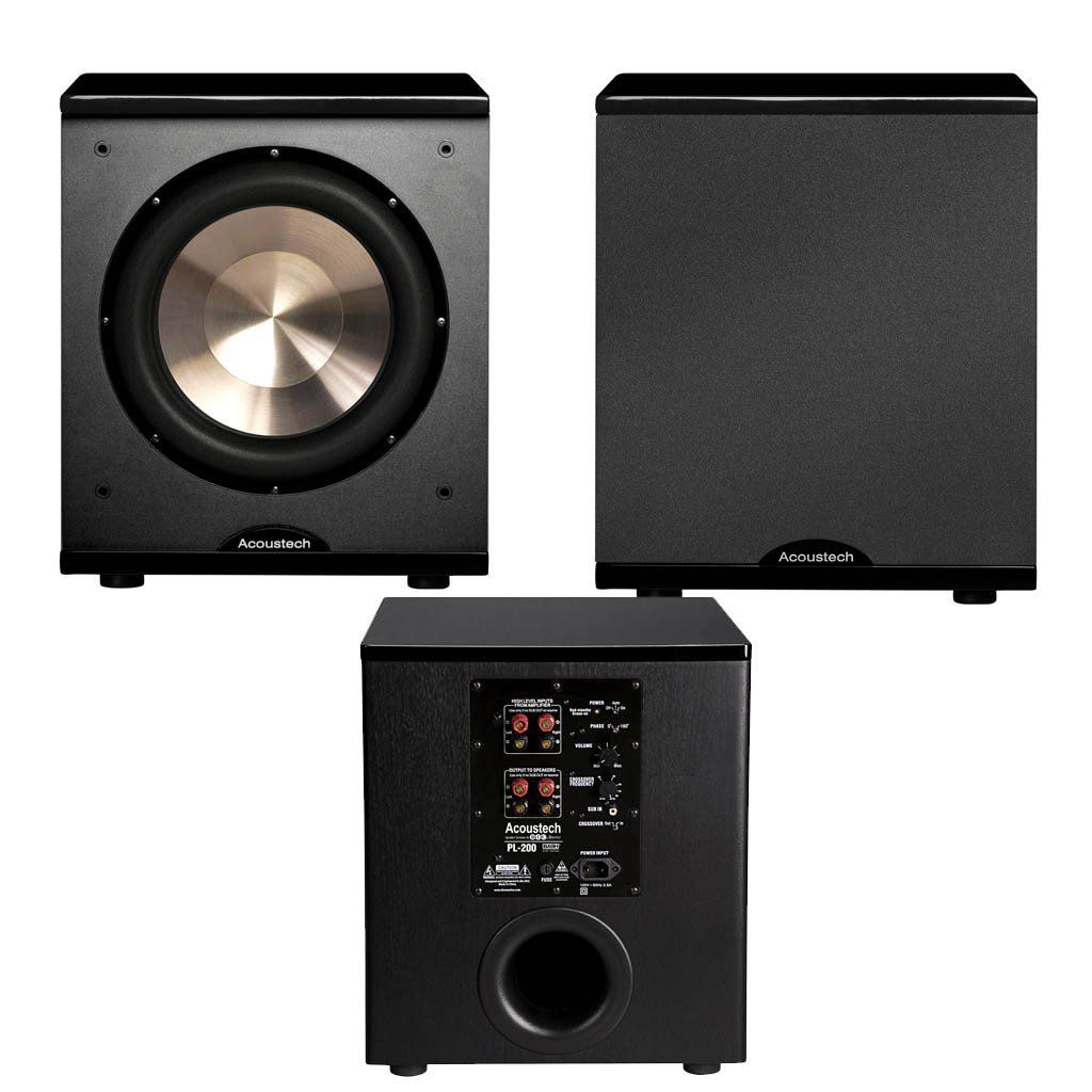 Best Home Theater Bic Acoustec Pl 200 Ii Subwoofer