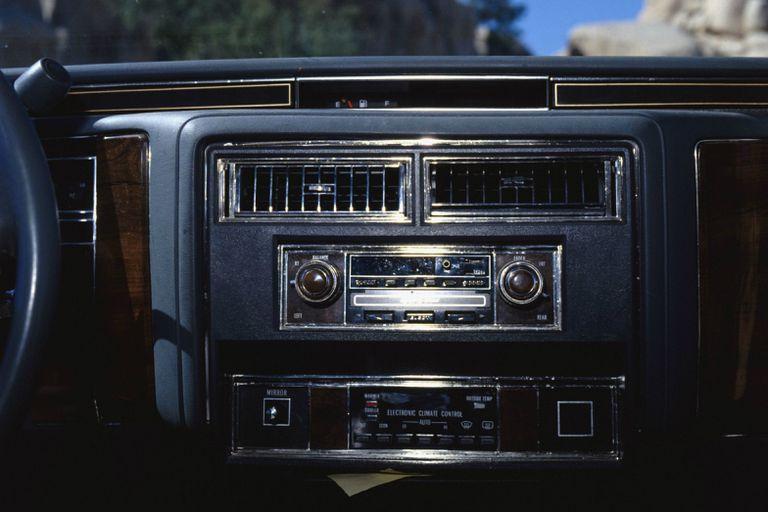 A car stereo
