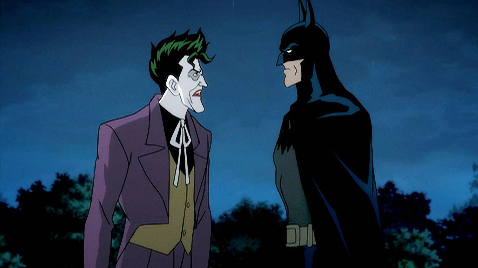 Batman and Joker in Batman: The Killing Joke