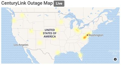 Centurylink outage map