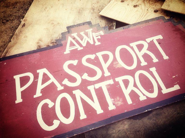 All Worlds Fair Passport Control