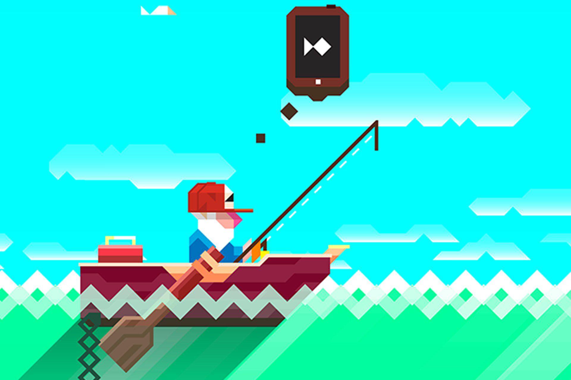 Ridiculous Fishing Apple Game of the Year 2013
