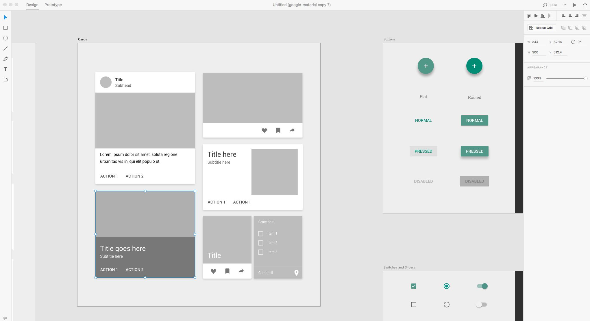 How to Create a Material Design Card in Adobe Experience