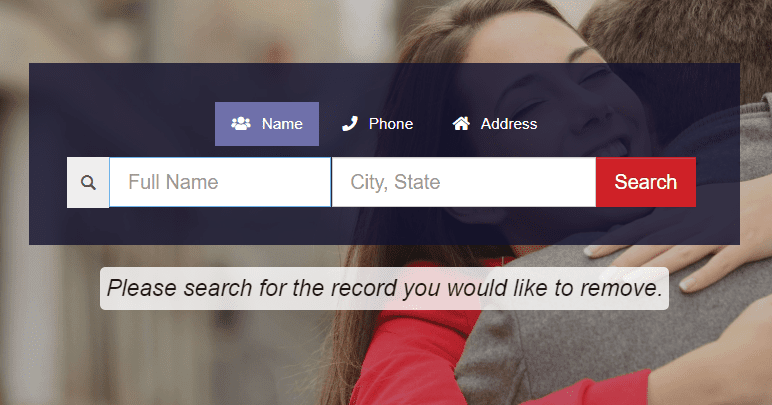 USA People Search name boxes