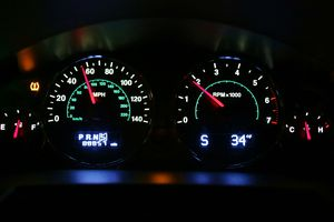 TPMS light appears in car dashboard