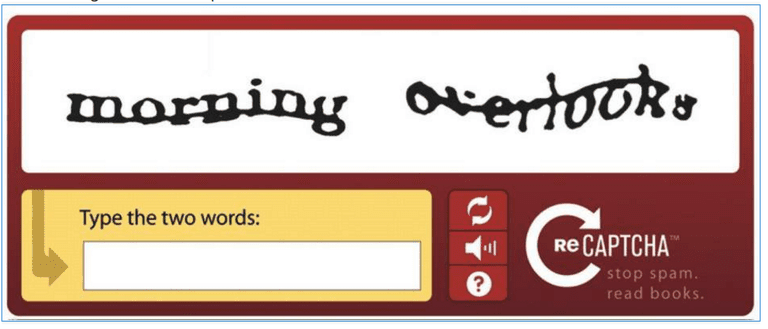 What is a CAPTCHA test?