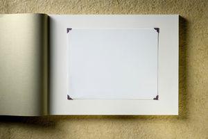 Empty photo album