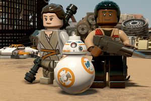 Screenshot from Lego Star Wars: the Force Awakens