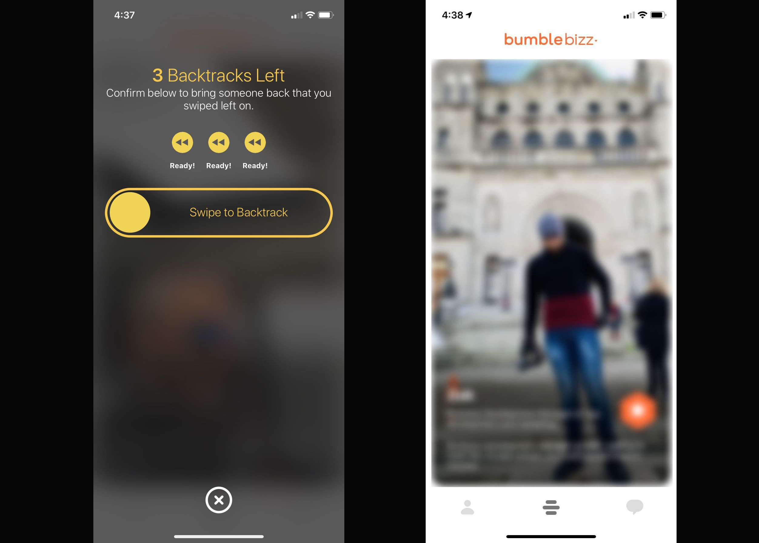 How to Go Back on Bumble
