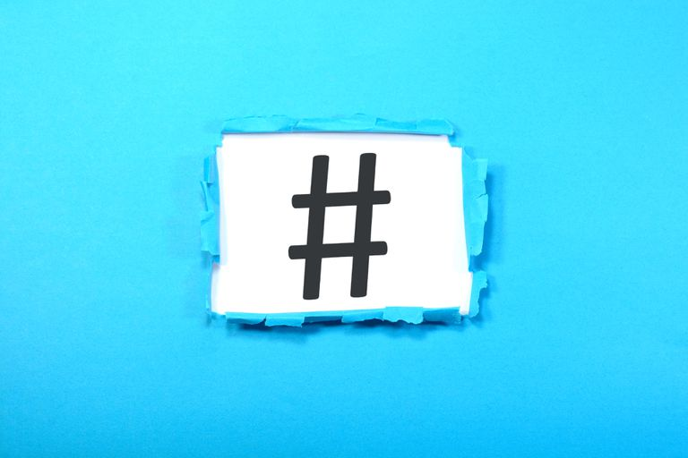HashTag Sign