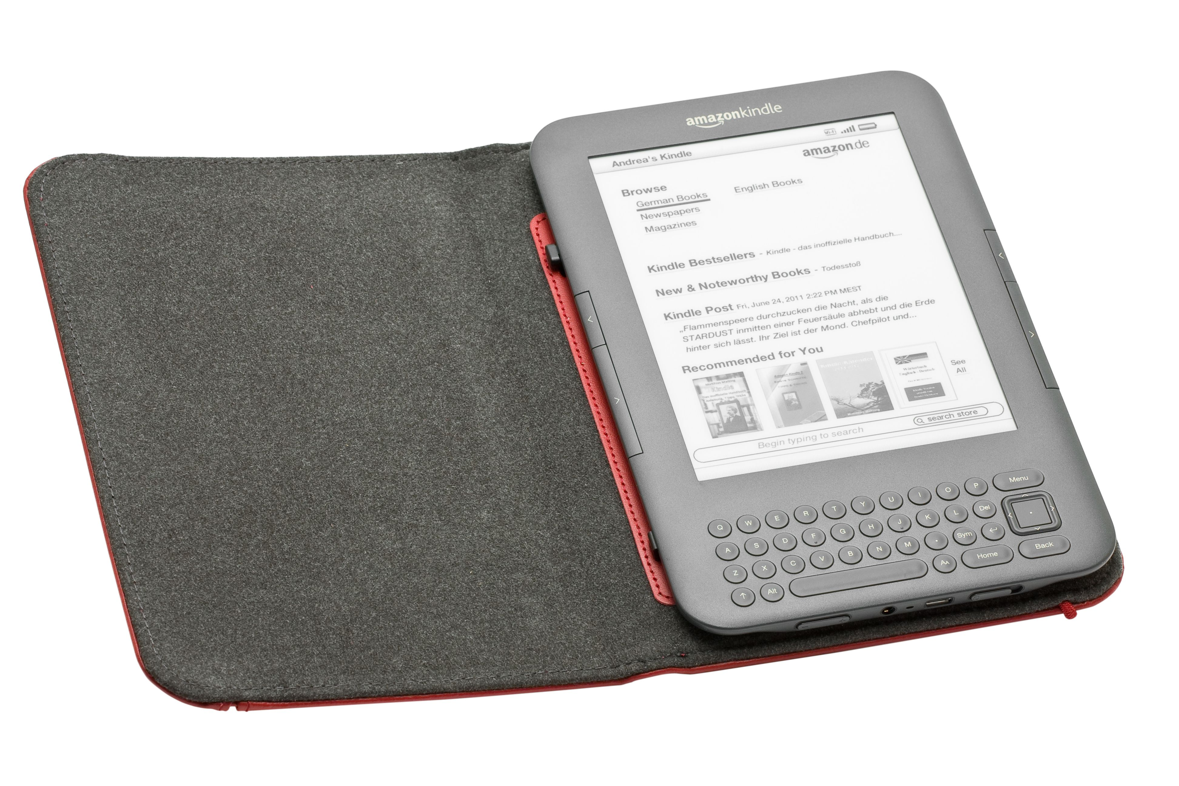 How To Remove The Cover On The Kindle 3