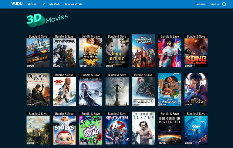 VUDU 3D Movie Streaming - What You Need To Know