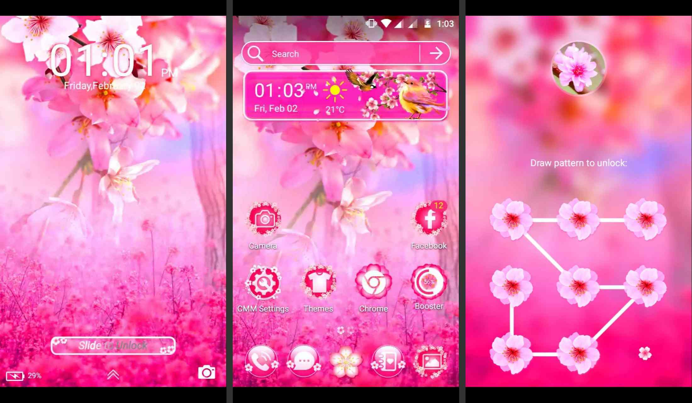 Sakura Theme for Android