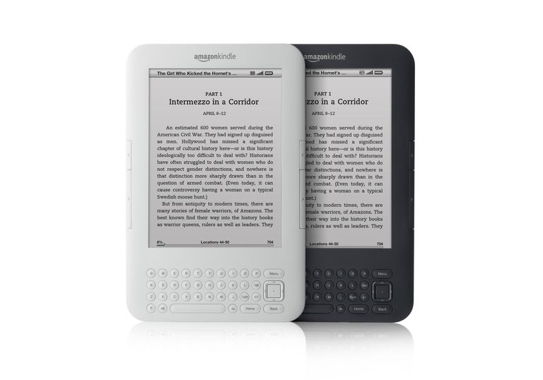Third-generation Amazon Kindle