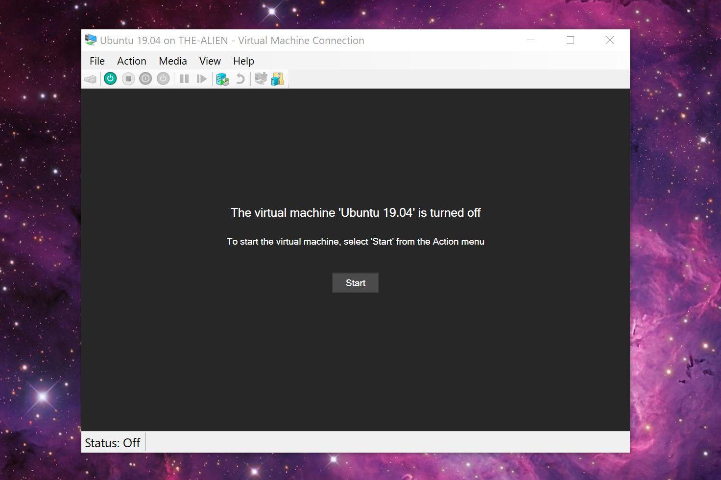 Launch Ubuntu Virtual Machine with Hyper-V