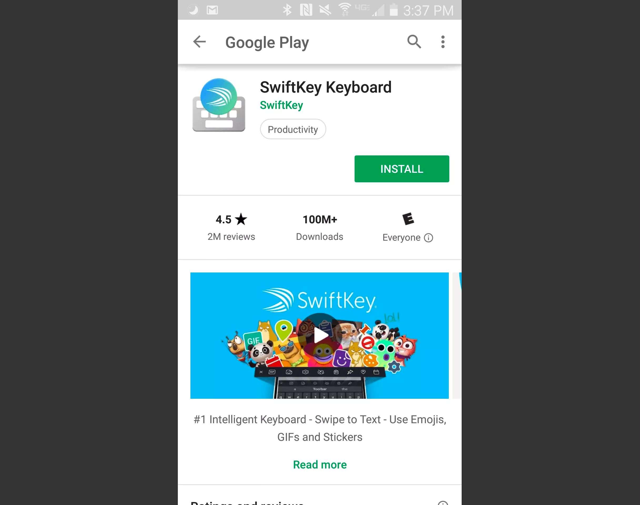 SwiftKey Keyboard on Google Play