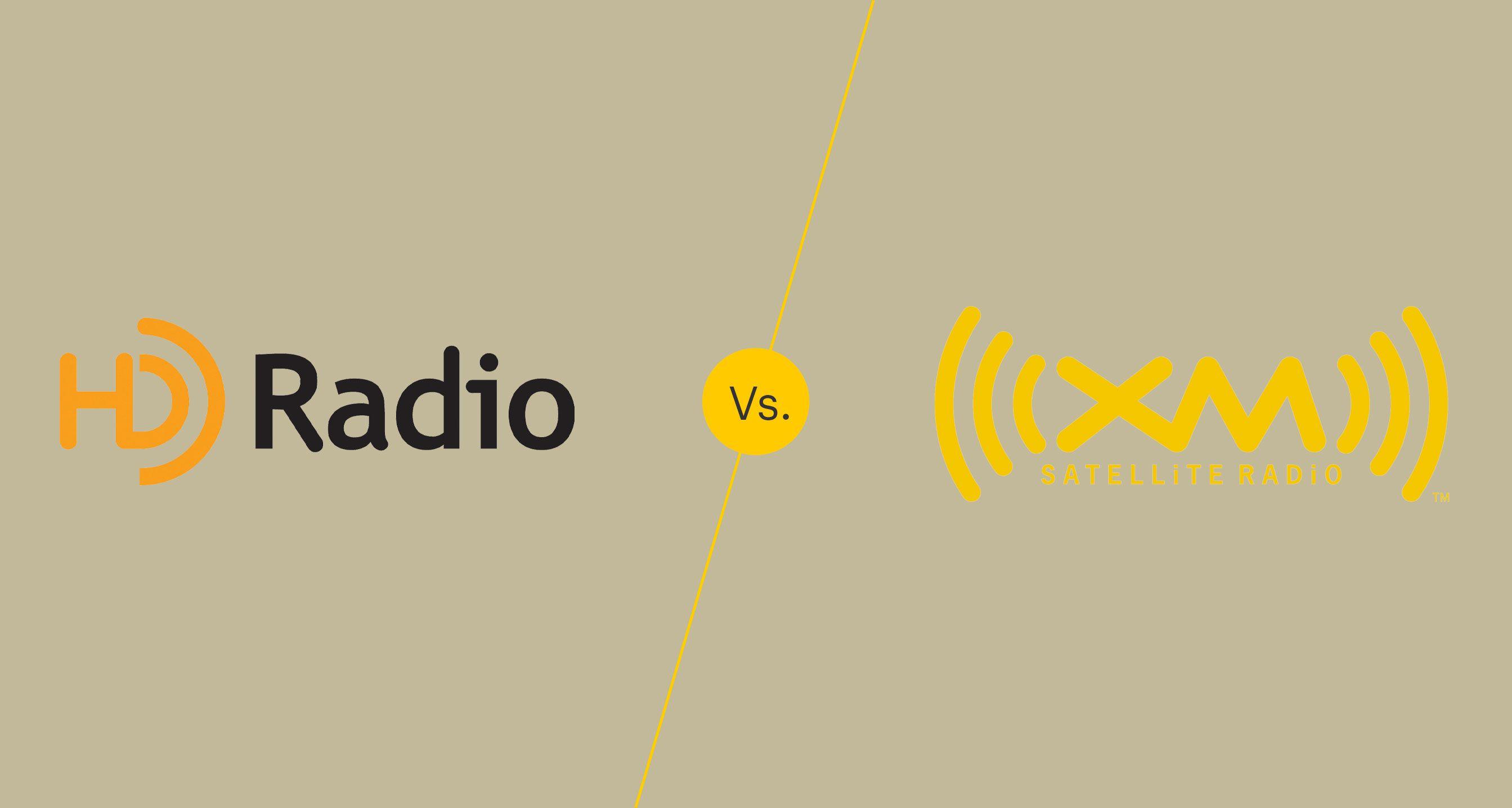 HD radio vs satellite radio