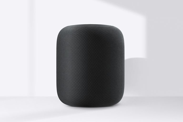 An Apple HomePod