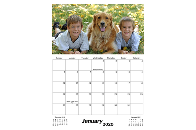 CalendarsQuick Monthly Photo Calendars