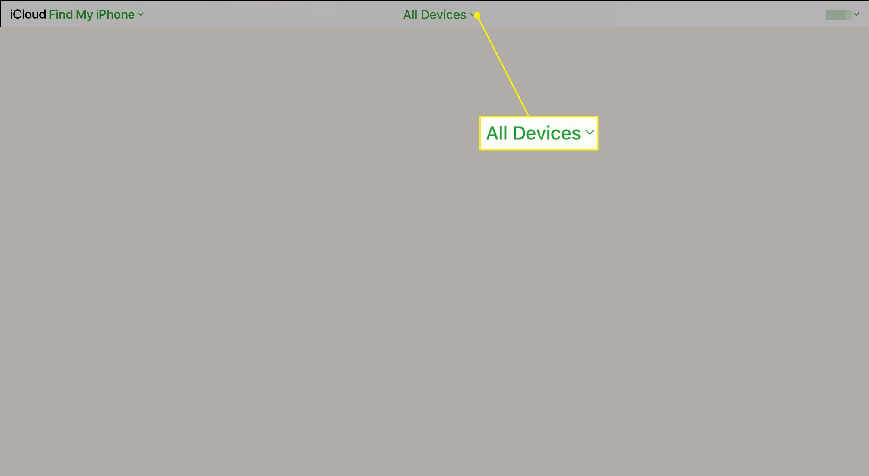 All Devices on iCloud