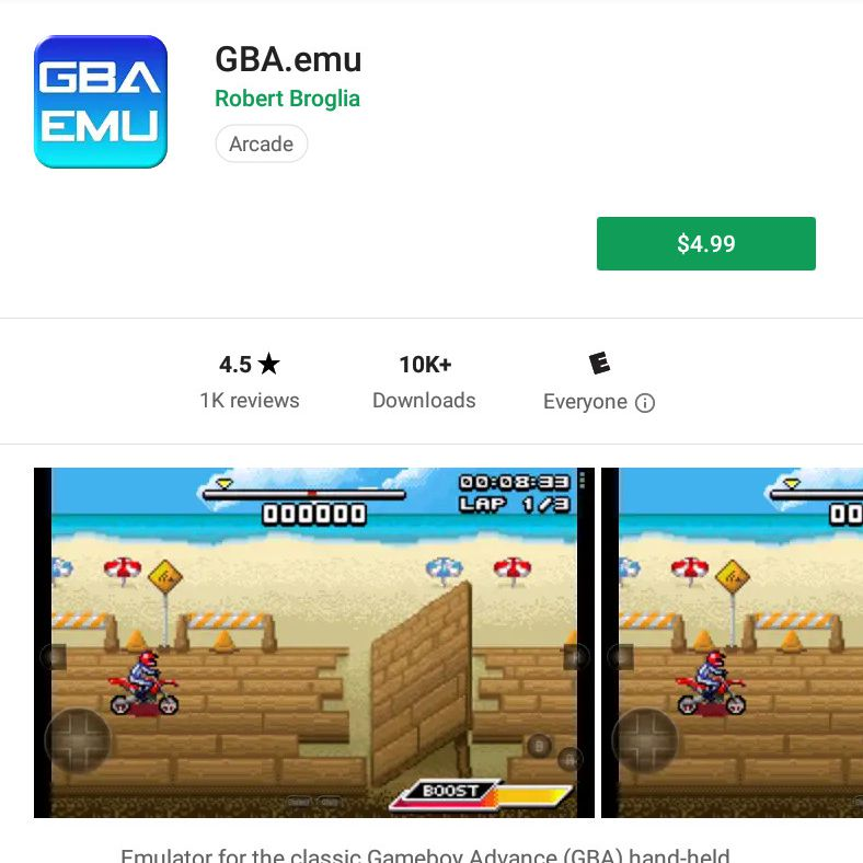 download gameboy advance emulator for android