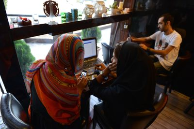 Daily Life In Tehran - Using VPN to Access Social Media