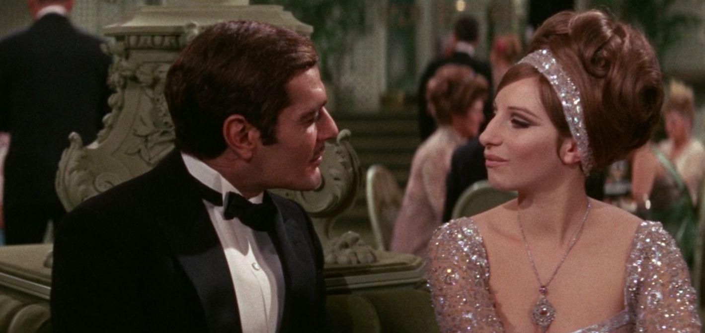 Omar Shariff and Barbara Streisand in 'Funny Girl.'