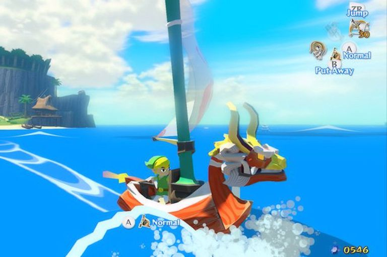 Wind Waker HD screenshot