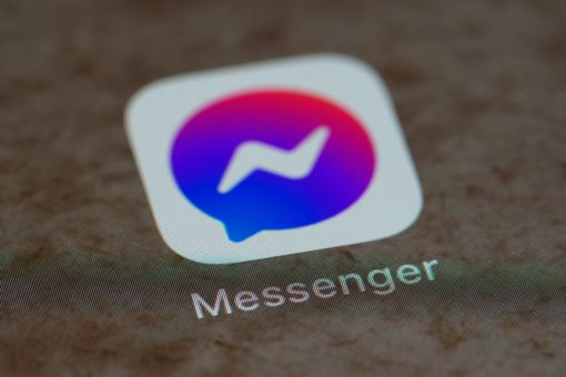 The Messenger app icon on a mobile device.