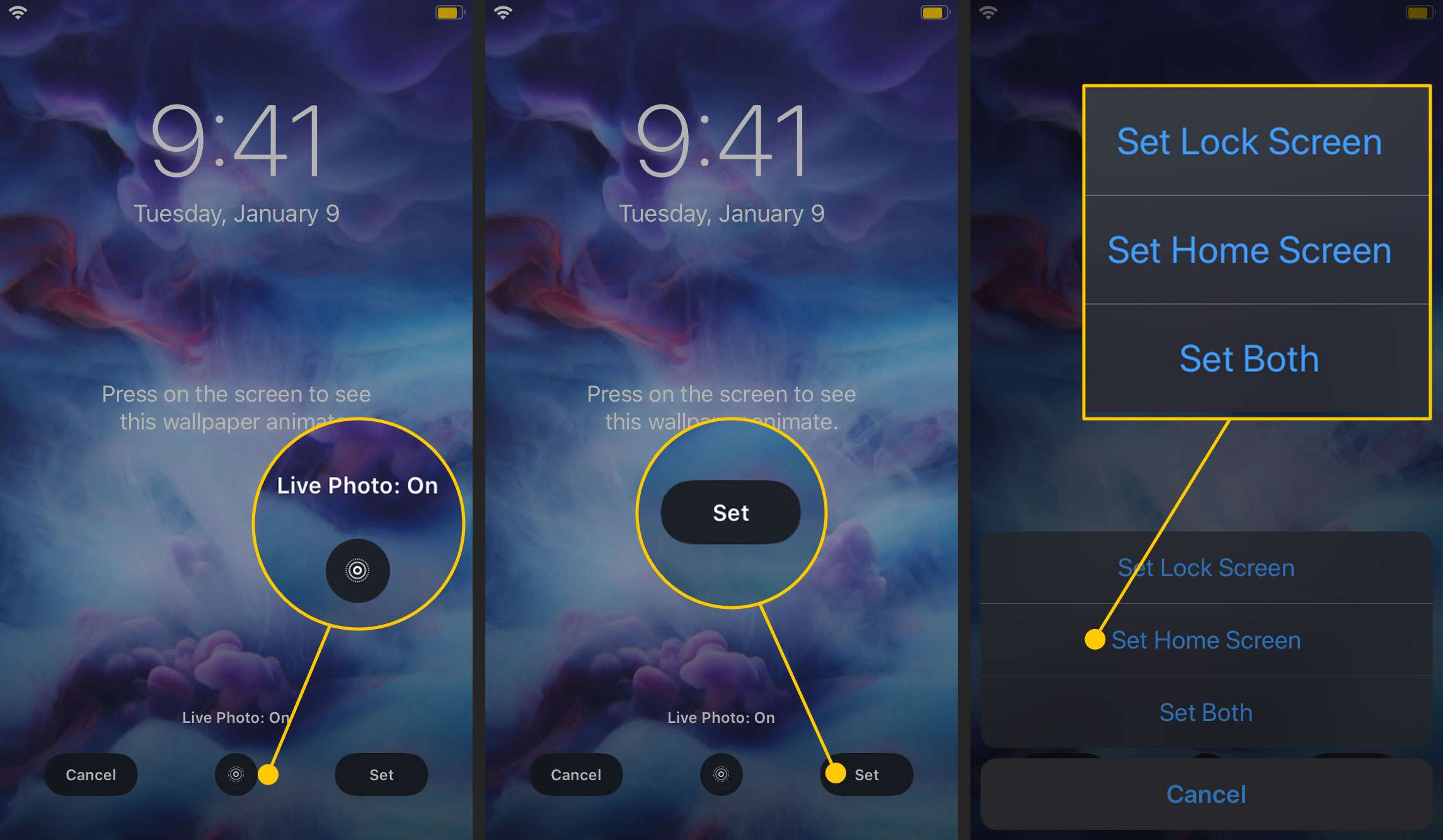 How Do You Make A Live Wallpaper On Iphone image number 3