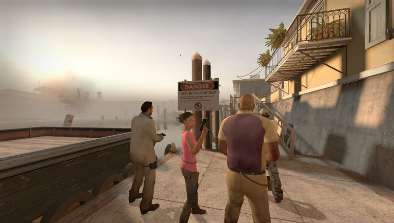 scene from Left 4 Dead 2