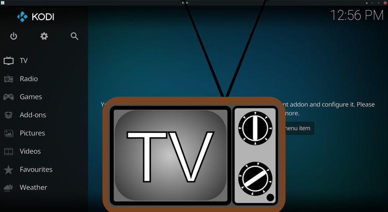 Watch Live TV on Kodi