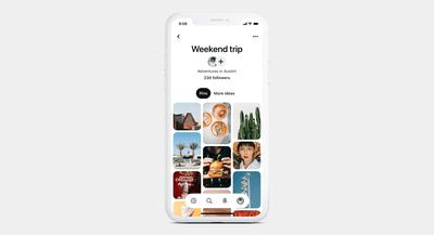 2019 update of Pinterest mobile app