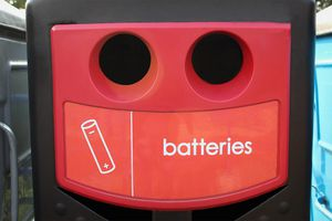Battery Recycling Bin
