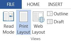 Read Mode in Microsoft Office 2013