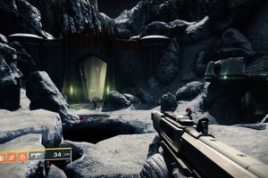 Entrance to the Temple of Crota in Destiny 2