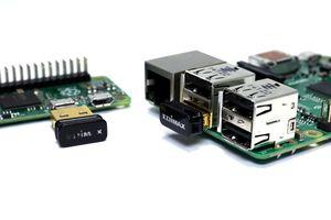 Raspberry Pi board with WiFi adapters