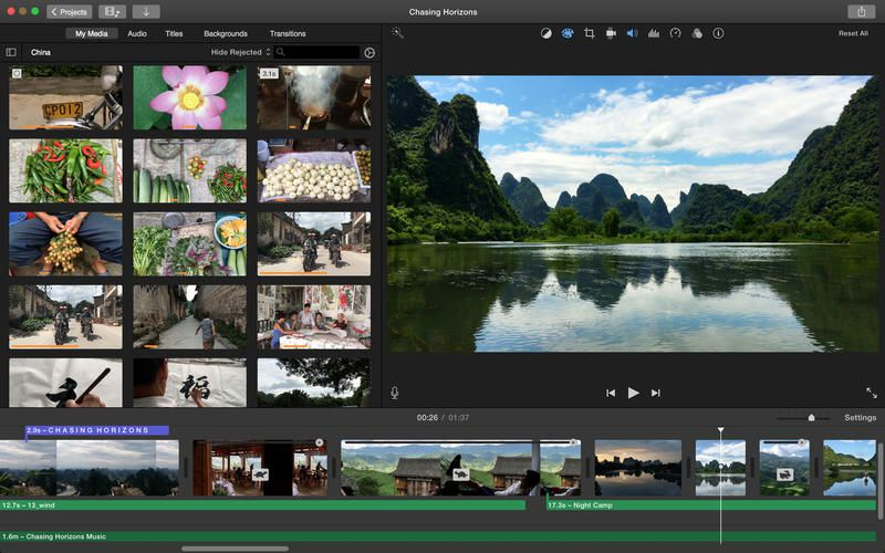 video editing software for pc