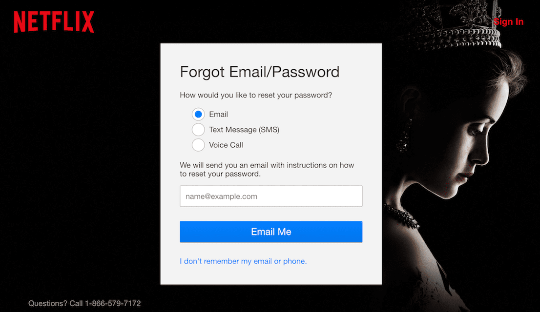 Changing Your Netflix Password