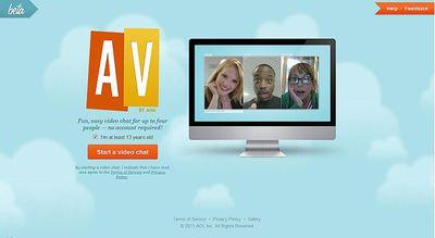 clean webcam chat