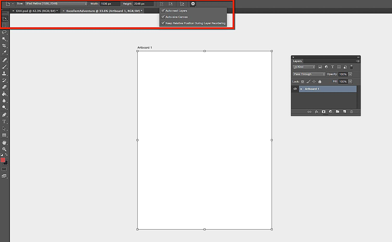 How to Use the Artboards Feature of Adobe Photoshop CC 2018