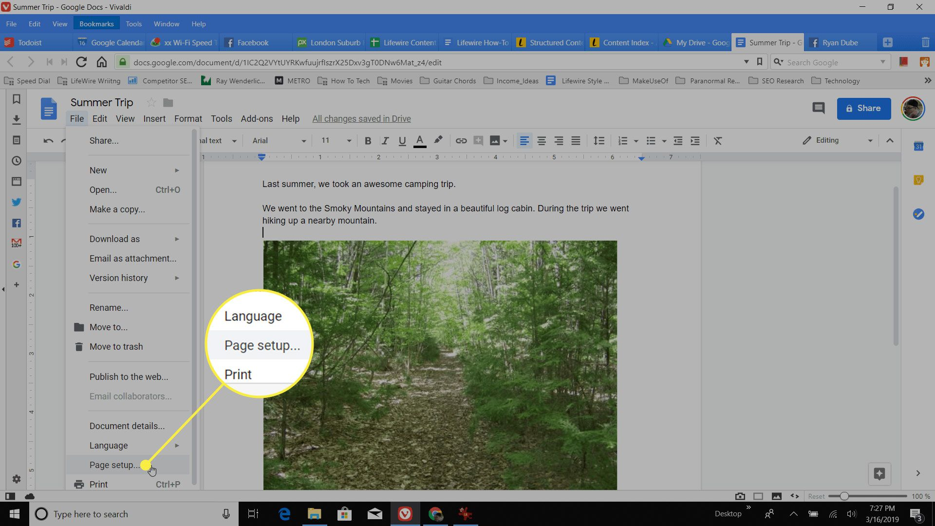 How To Make Google Docs Landscape More From Lifewire