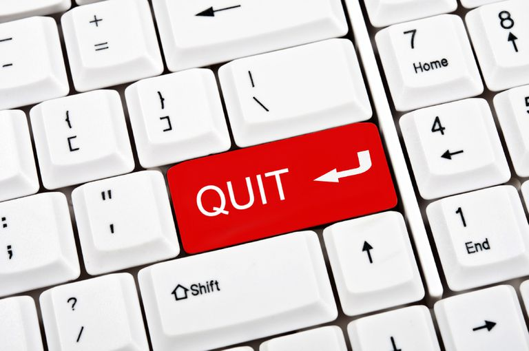 Quit on keyboard